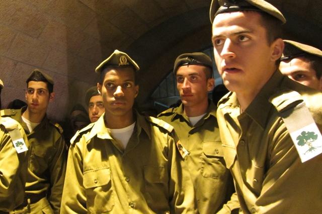Israeli soldiers image, Ethiopian image