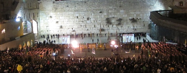 Ceremony at the Wailing Wall