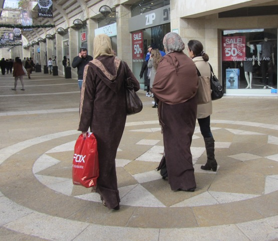 Arab Women shopping