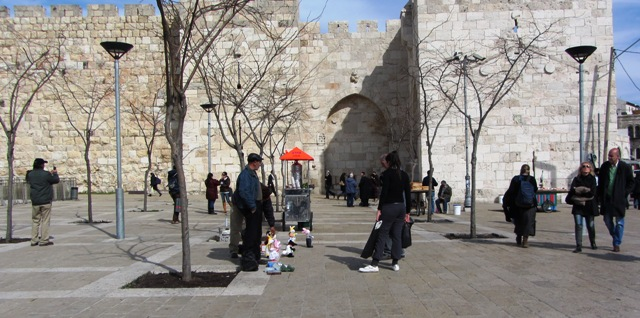 Jaffa Gate image, picture of Jaffa plaza