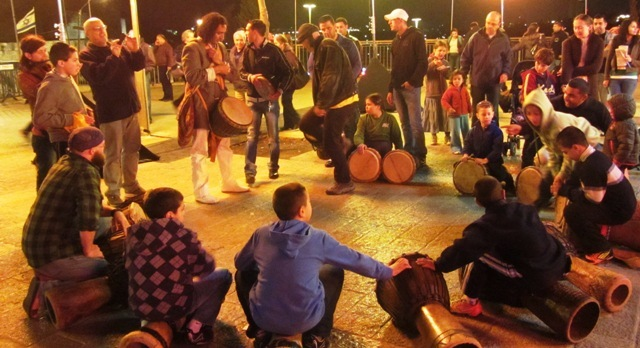 """photo drum circle"", ""picture of drums"", ""Arab boys"", ""Jerusalem photos"""
