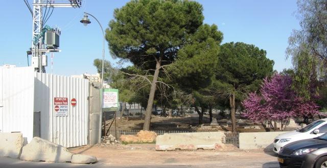 """""""picture Mamilla Cemetery abuse"""". """"Mamilla fence'"""