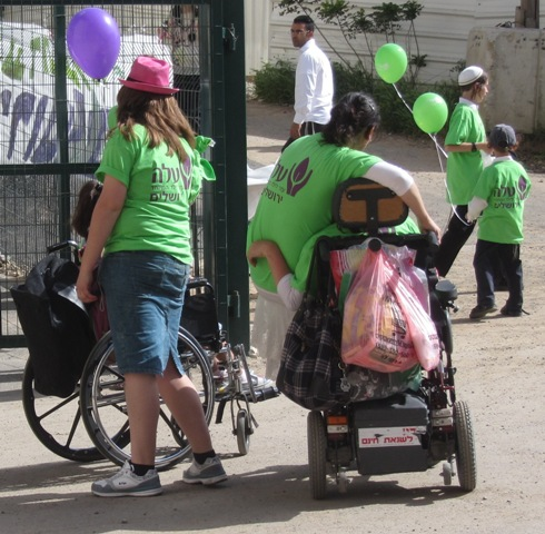 """picture wheel chair"", ""photo Jerusalem"""