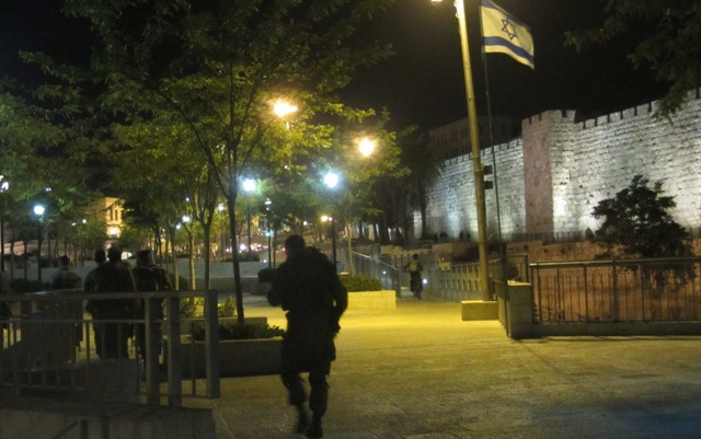 """picture Israel soldiers"", ""photo Israel flag"", ""image Old City Walls"""