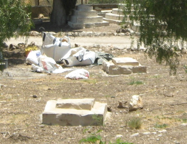 """graves in Mamilla Cemetery"","
