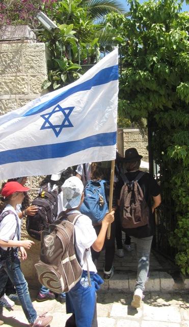 """""""picture Israel flag"""", """"image Jerusalem Day"""", """"photo Jerusalem street"""""""