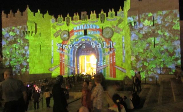 """picture Damascus Gate"", ""pinball photo"", ""image of Damascus Gate"""