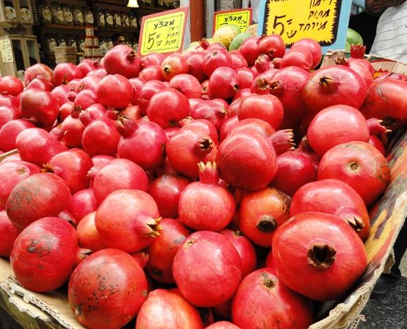 pomengranates, rimonim
