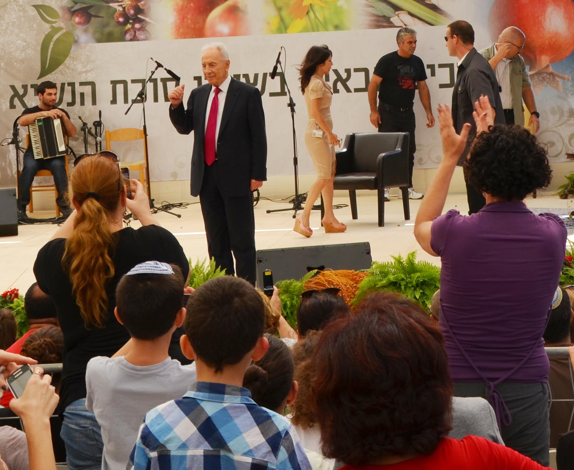 President Peres Sukkot