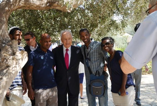 President Shimon Peres photo
