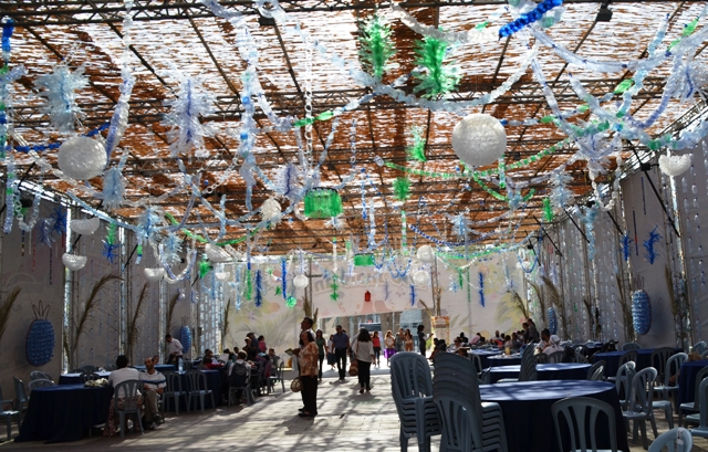 sukkah decoration