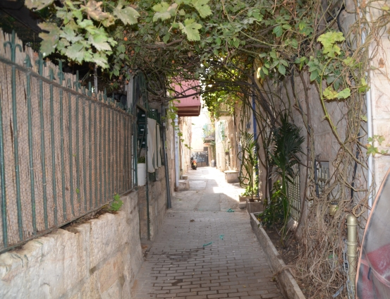 Nahlaot street, Jerusalem Street, J Street