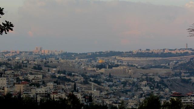 Tayelet, Jerusalem view, RJStreets, JStreet