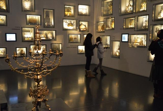 Israel Museum chanukiah