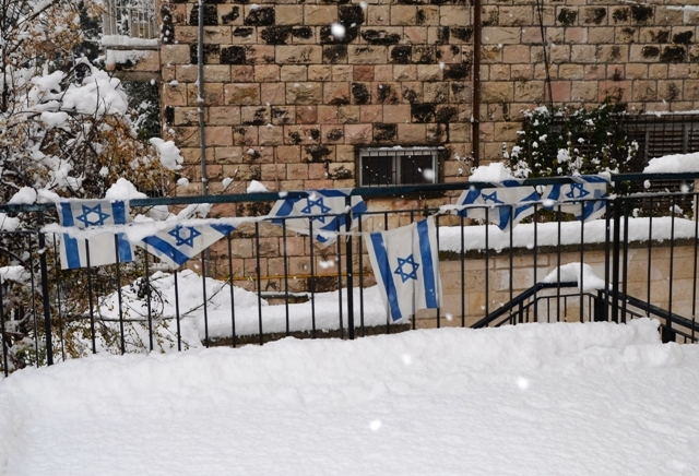 Snow photo Jerusalem