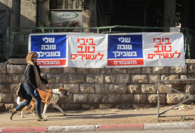 Jerusalem photo campaign election