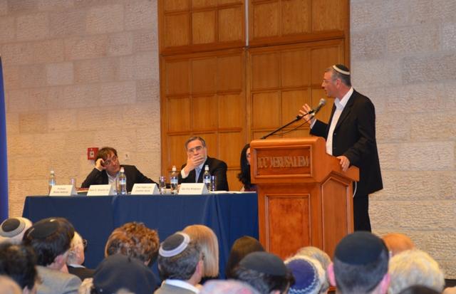 Jerusalem book fair speakers