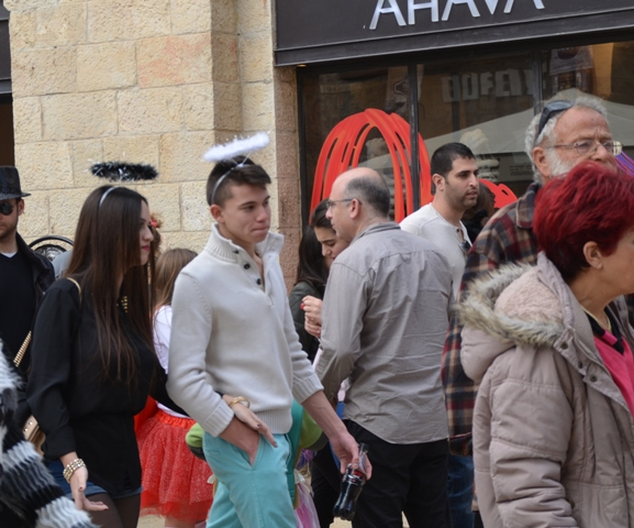 Purim in Jerusalem, Jerusalem