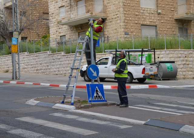 Fixing Jerusalem for Obama visit
