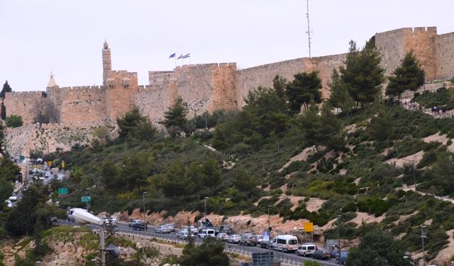 Jerusalem photo, Obama visit