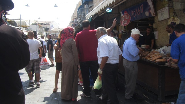 image Machane Yehuda market, shopping in Jerusalem