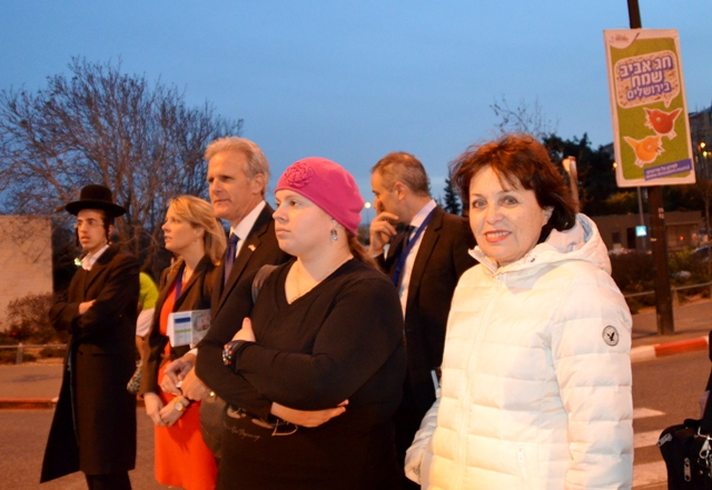 Israeli ambassador in photo