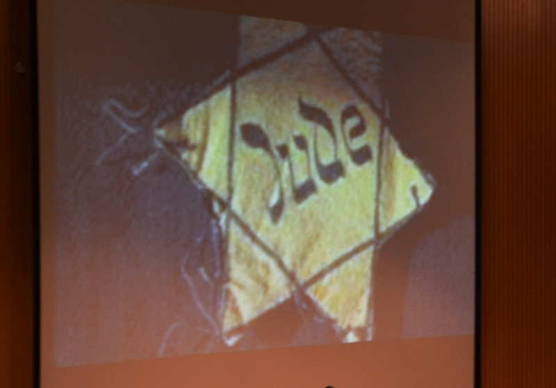 Picture of Yellow star Jews had to wear