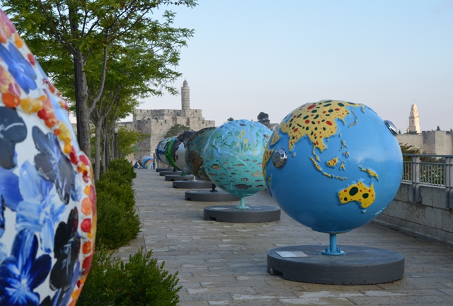 Image of Cool Globes, large world globe photo
