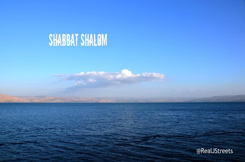 Kinneret shabat shalom poster
