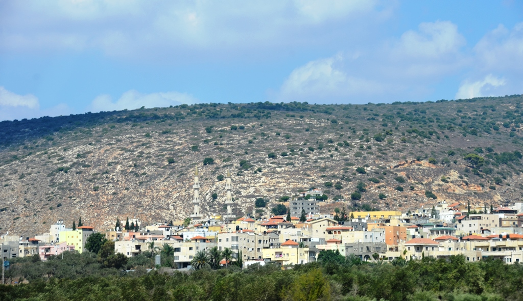 Arab village near Kinneret