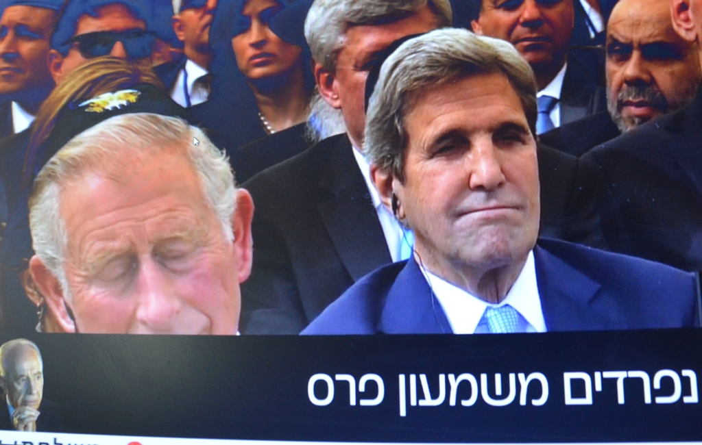 Prince Charles and John Kerry