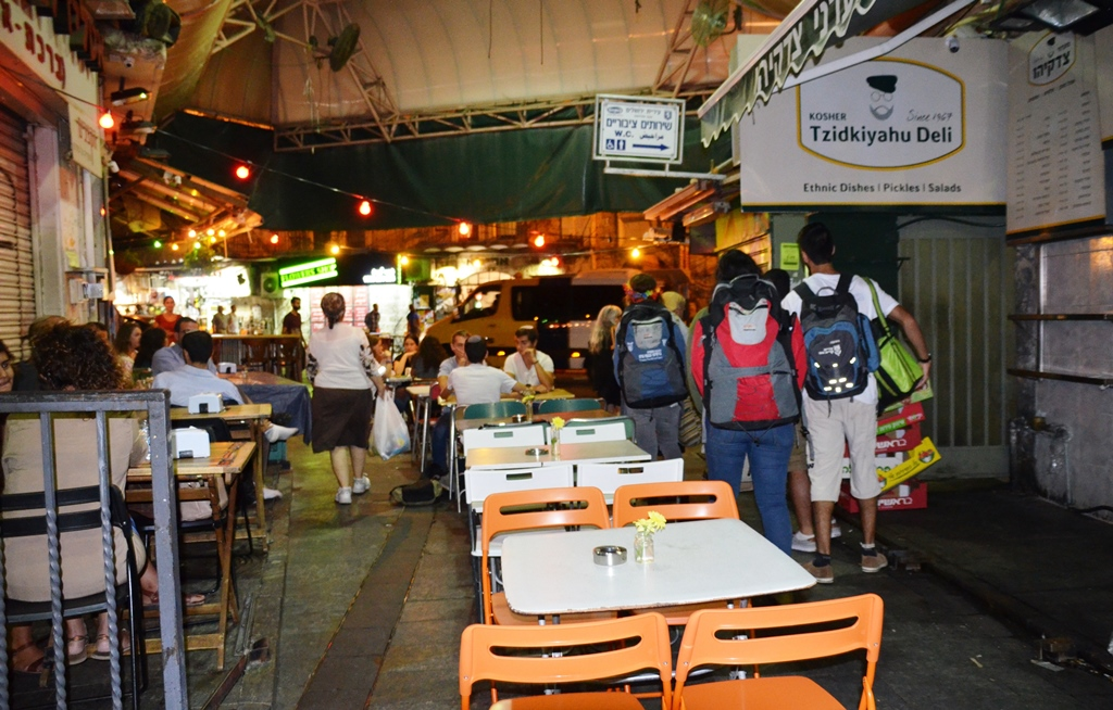 Market Machane Yehuda set for night life Jerusalem