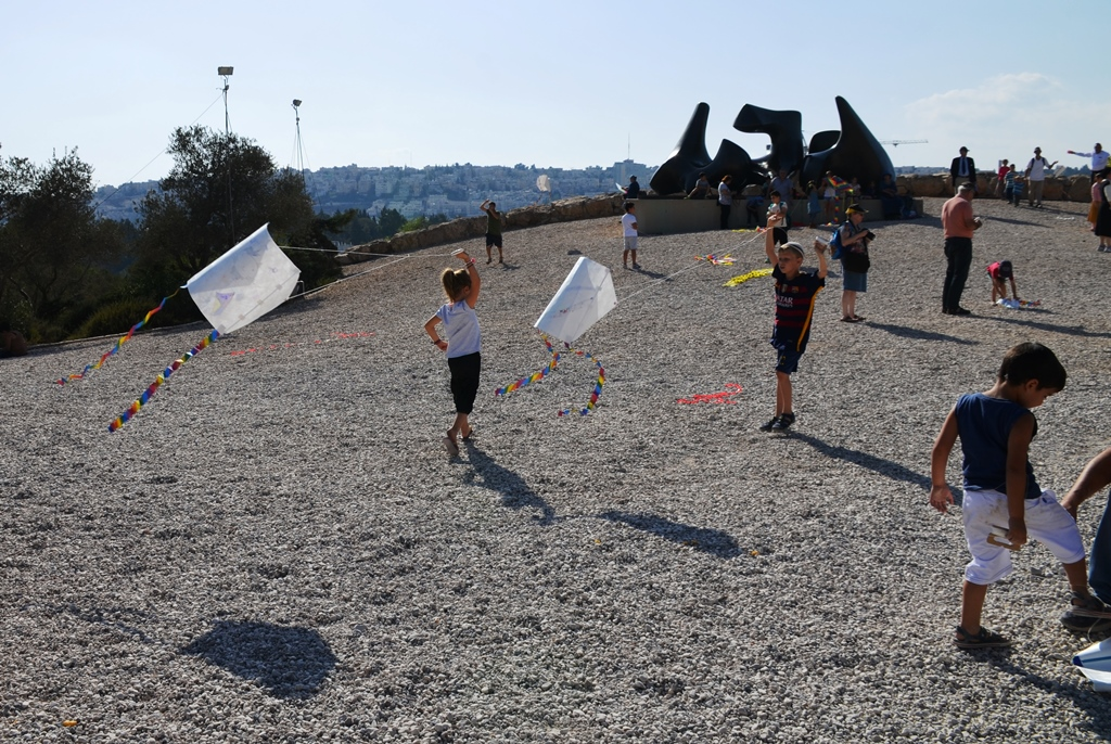 Israeli Museum kite festival on Sukkot