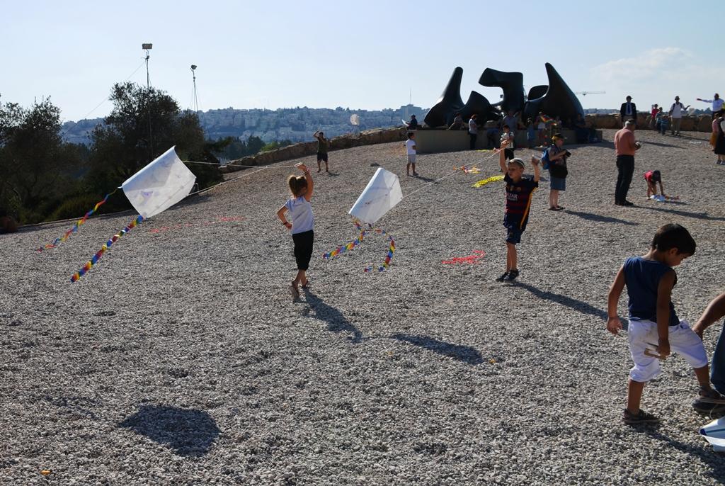 Israeli Museum kite festival on Sukkot