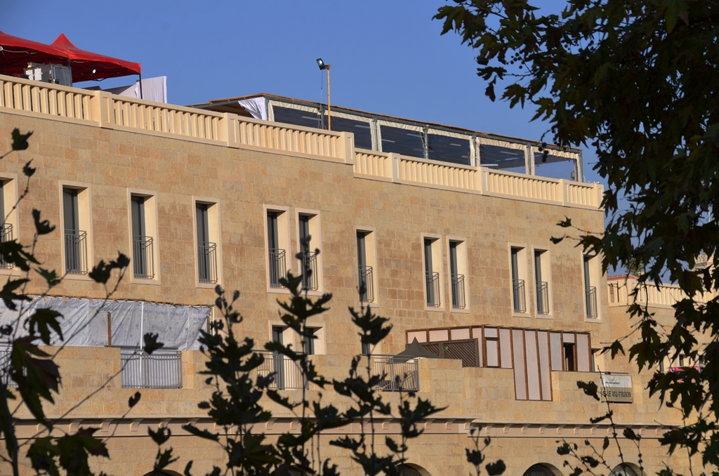 sukka Mamilla Mall and residences