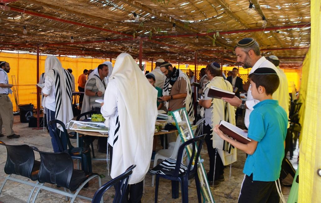 Hebron Caves of Patriarchs sukka
